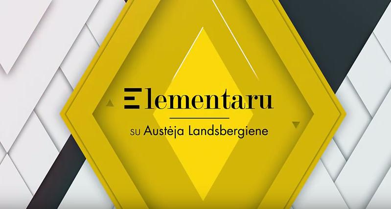 Patyčių prevencijos kokteilis | Elementaru su Austėja Landsbergiene (S01E01)