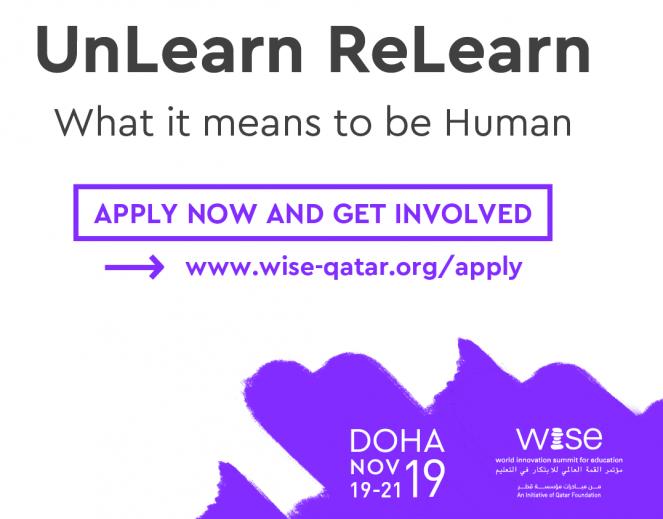 Pranešimas WISE švietimo viršūnių susitikime | Doha 11.18-11.21